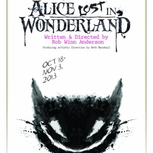Alice Lost in Wonderland - Cat
