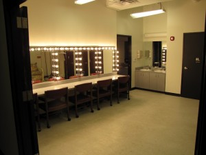 Garden Theatre dressing room
