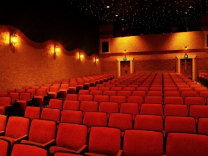 Garden Theatre auditorium, seating for 299 guests